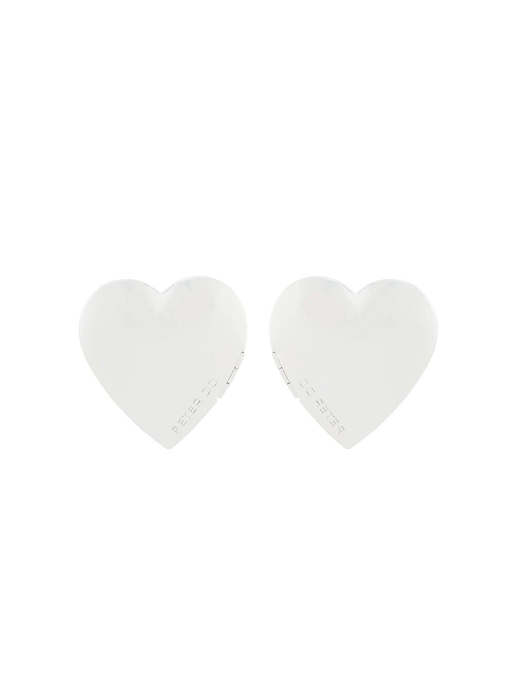 HEART LOCKET EARRING