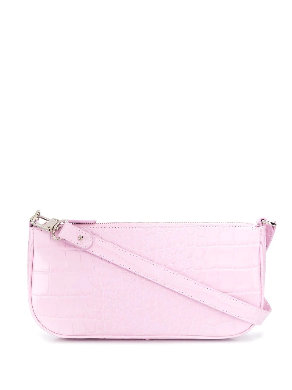Rachel Pink Croco Embossed Leather