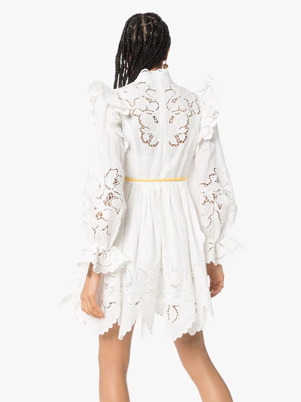 CARNABY SCALLOP SHORT DRESS