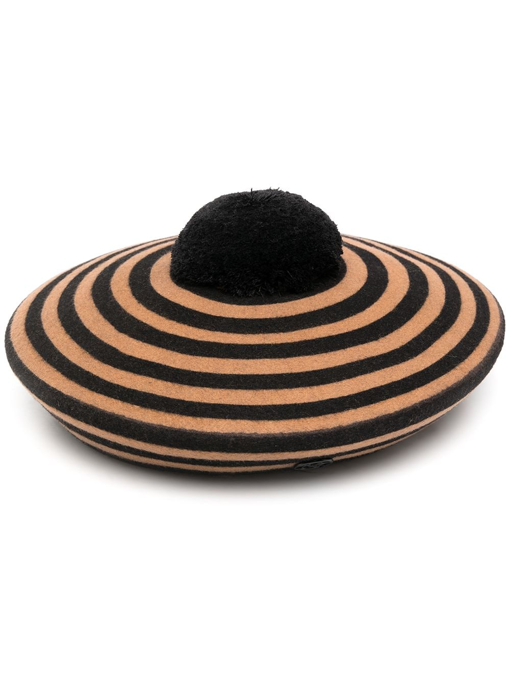 IDAHO HAT 20PF STRIPEY FELT