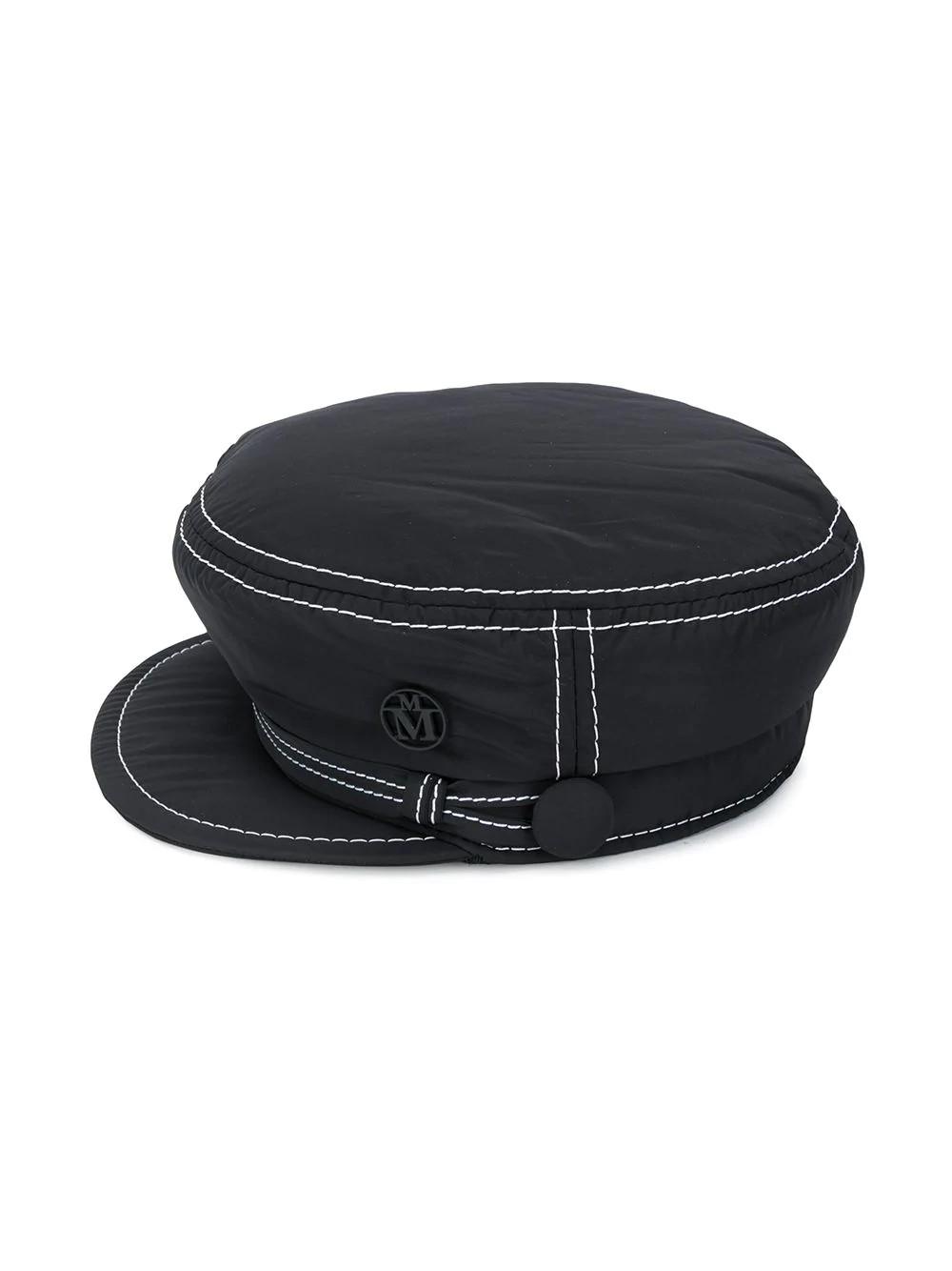SOFT NEW ABBY HAT2 20PF TOPSTITCHED NYLON