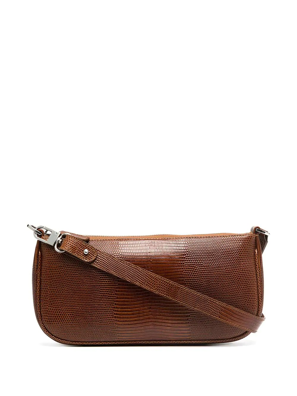 Rachel Tan Lizard Embossed Leather