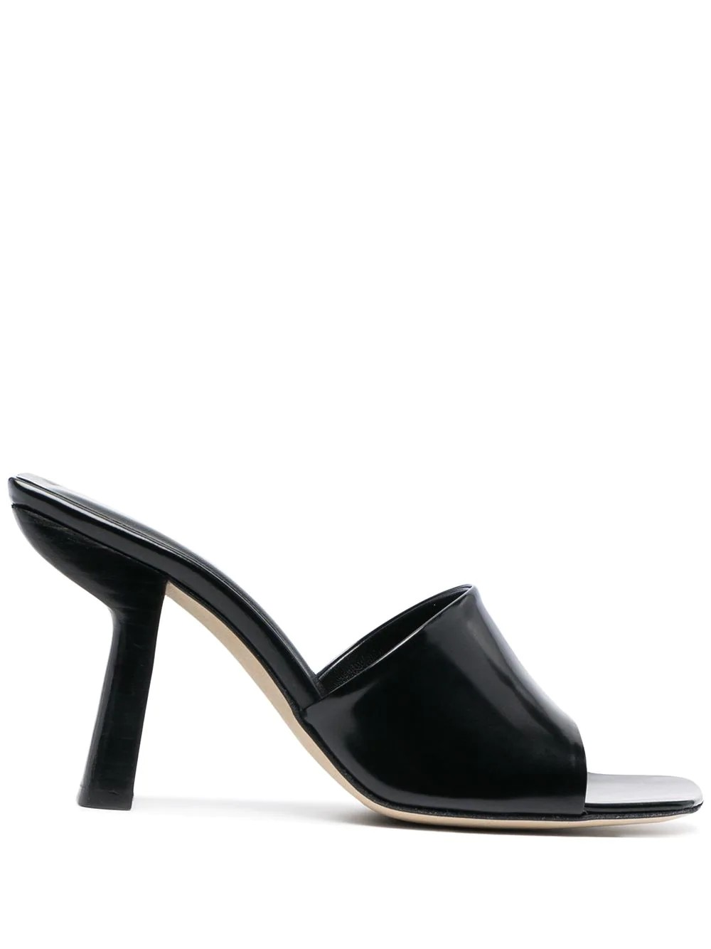 Liliana Black Semi Patent Leather
