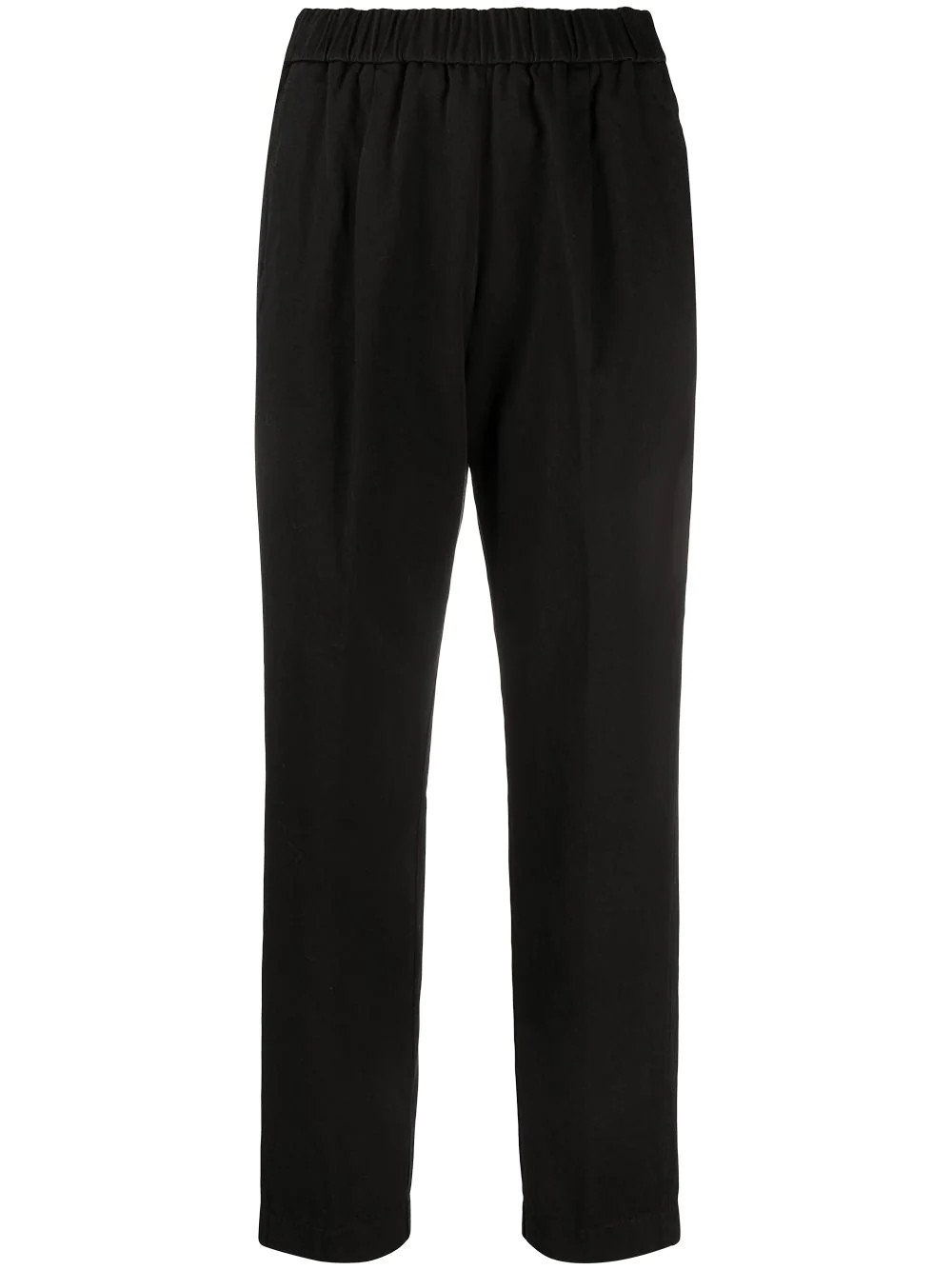 pantalone elastico gabardina cotone