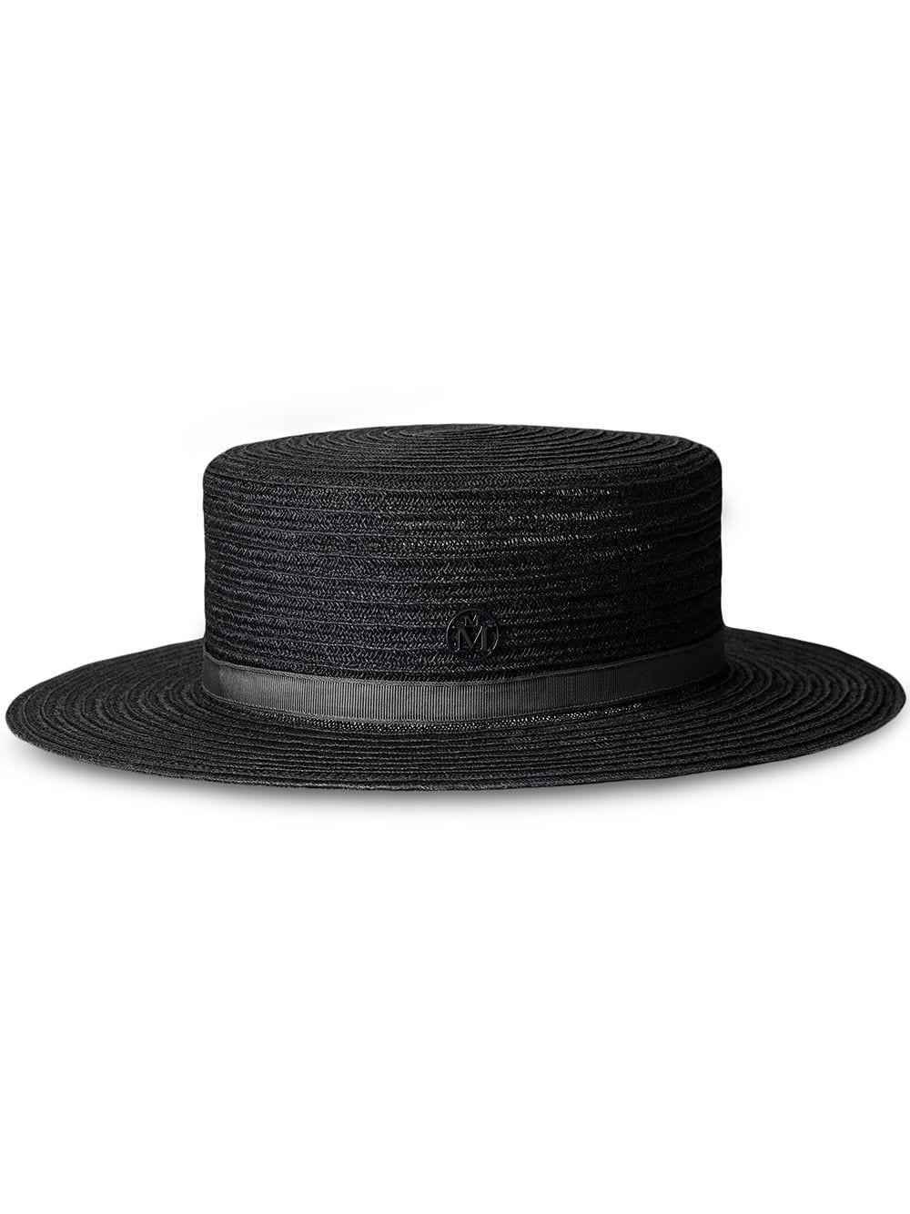 KIKI HAT 21PS STRAW BLACK