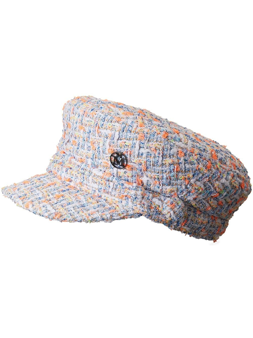 NEW ABBY HAT 21PS SPRING TWEED MULTI