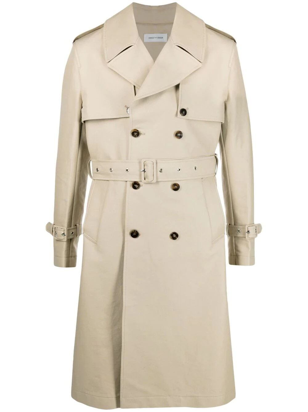 Removable Sleeves Trench Coat