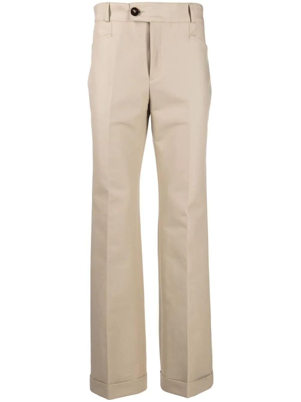 Cuffed 70`s Trousers
