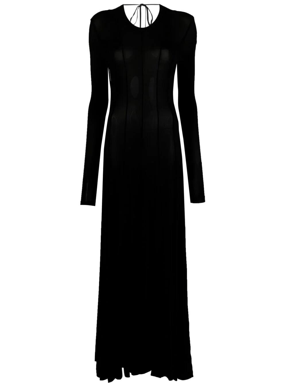 OPEN BACK SQUID DRESS