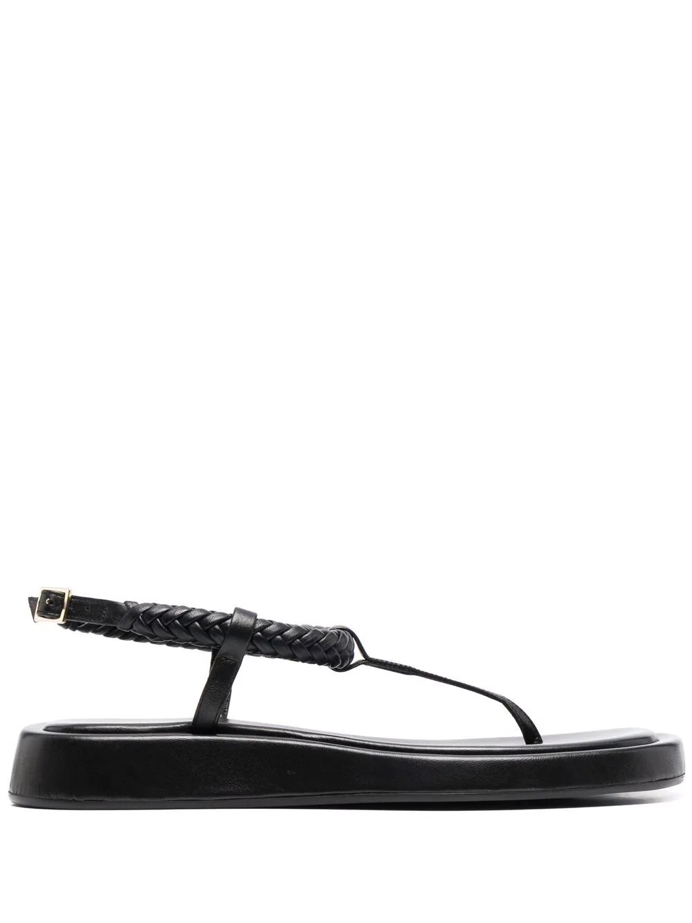 Rosie 3 Flat thong sandal with braided