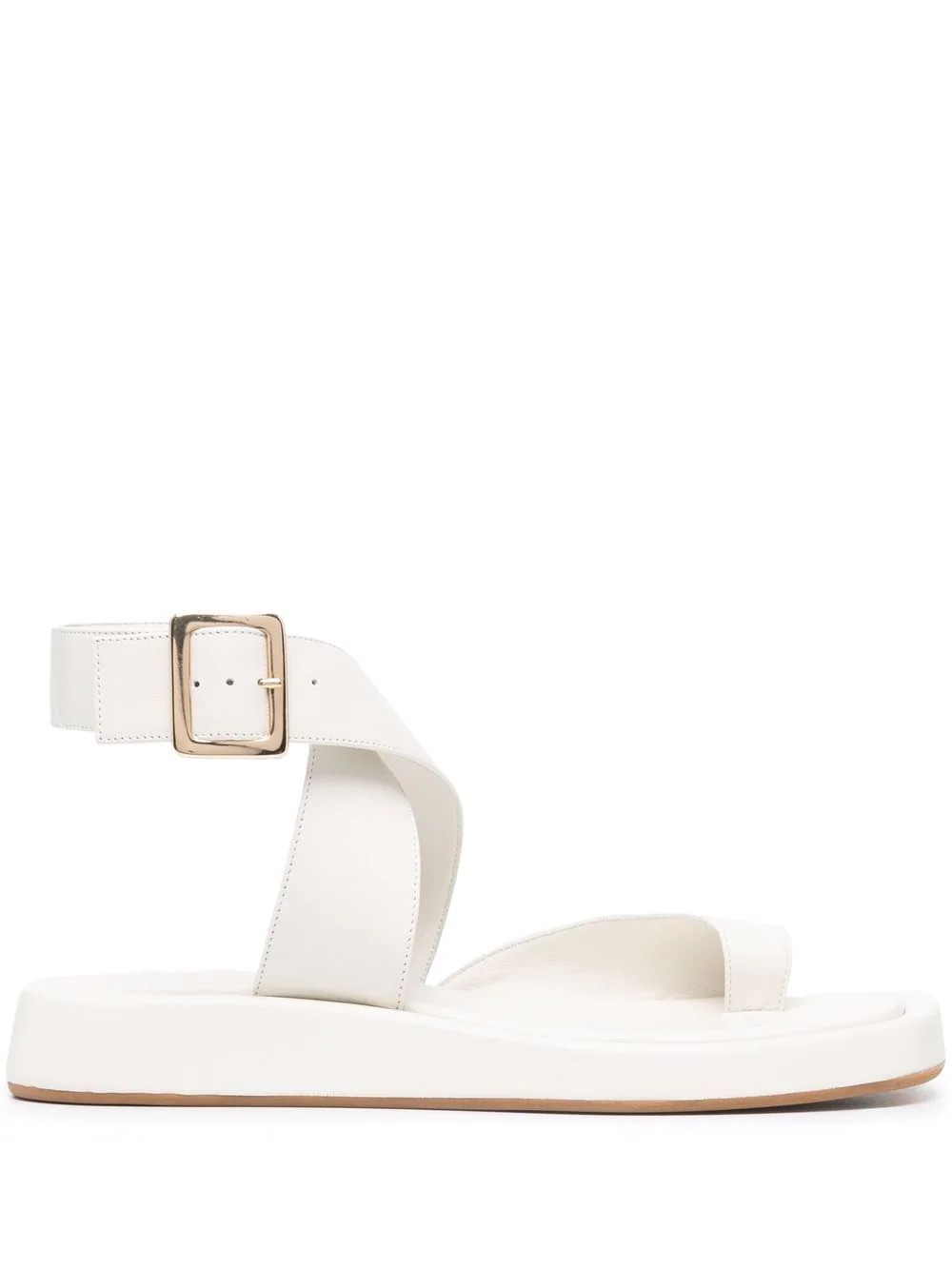 Rosie 4 Flat Toe Ring with strap around