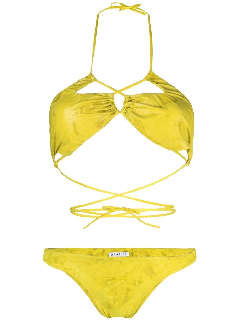 YACOUT TWO-PIECE SWIMSUIT
