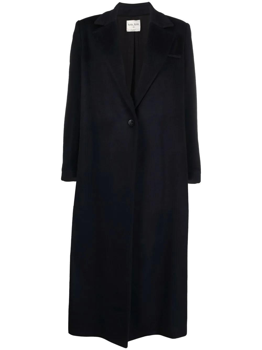 Cappotto lungo panno